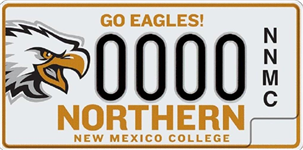 Northern New Mexico College License Plate