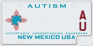 Autism Awareness License Plate