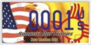 Patriot License Plate Image